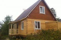 Дом из бруса 6х8 Вязьма-Брянская 2