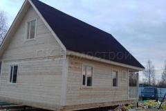 Дом из бруса 6х9 СНТ Содружество 4