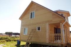 Дом из бруса 7х7 Ненашево 3