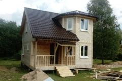 Дом из бруса 7х7 Литвиново 1