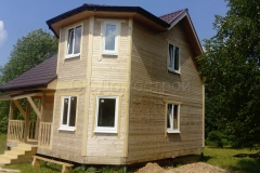 Дом из бруса 7х7 Литвиново 5