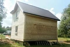 Дом из бруса 7х7 Литвиново 6