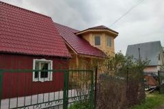 Дом из бруса 7х7 СНТ Родина 0