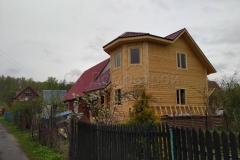 Дом из бруса 7х7 СНТ Родина 2