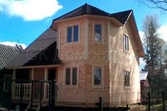 Дом из бруса 7х7 Ижевск 0