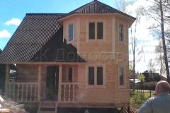 Дом из бруса 7х7 Ижевск 1