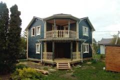 Дом из бруса 8х8 Рыбинск 1