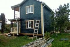 Дом из бруса 8х8 Рыбинск 3