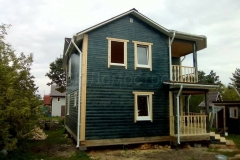 Дом из бруса 8х8 Рыбинск 4