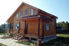Дом из бруса 8х9 СНТ Ольшаны 1