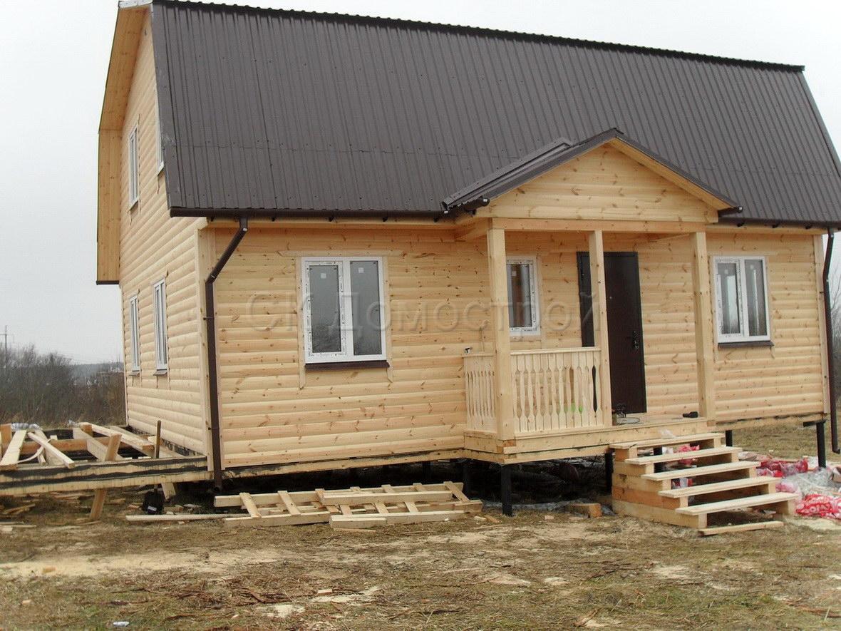 Дома из клееного бруса от производителя СКДдом