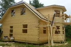 Дом под усадку 10х10 Клишино 12