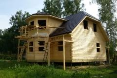 Дом под усадку 10х10 Клишино 3