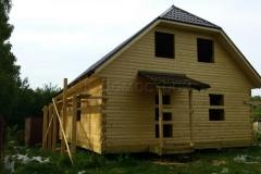 Дом под усадку 10х10 Клишино 4