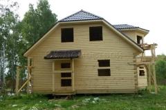 Дом под усадку 10х10 Клишино 5