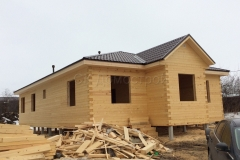 Дом под усадку 10х16 153