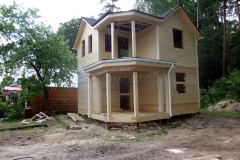 Дом под усадку 6,5х6,5 СНТ Лесовод 1