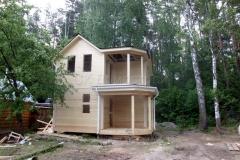 Дом под усадку 6,5х6,5 СНТ Лесовод 2