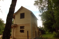Дом под усадку 6,5х6,5 СНТ Лесовод 3