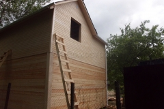 Дом под усадку 6,5х6,5 СНТ Лесовод 4