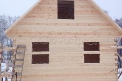 Дом под усадку 6х6 СНТ Малинки 5