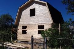 Дом под усадку 6х6 Мшинское 2