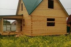 Дом под усадку 6х7 Толстолобино 1