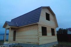 Дом под усадку 6х9 Кузяево 1