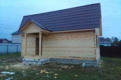 Дом под усадку 6х9 Кузяево 3