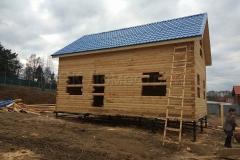 Дом под усадку 6х9 Всеволод деревня Куверкино 1