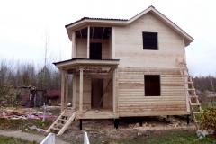 Дом под усадку 7,5х7,5 СНТ Кюльвия 0