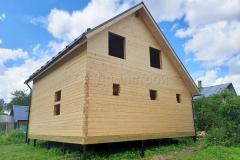 Дом под усадку 7,5х8 СТ Радужное 4