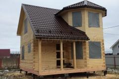 Дом под усадку 7х7 ДНП Лесная поляна 2