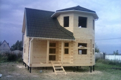 Дом под усадку 7х7 село Новое 1