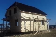 Дом под усадку 7х9 Красный Маяк 6