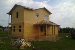 Дом под усадку 8х8 Екимовичи 1
