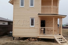 Каркасный дом 6,5х6,5 Коломна 3