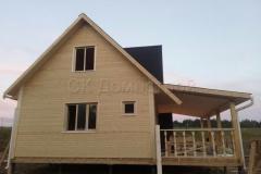 Каркасный дом 6х7 Пальчино 0
