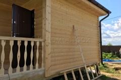 Каркасный дом 6х8 Агро 40