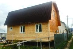 Каркасный дом 6х8 СНТ Природа 5
