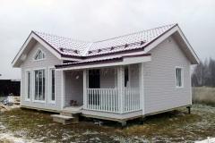 Каркасный дом 7,5х9 Серпухов 3