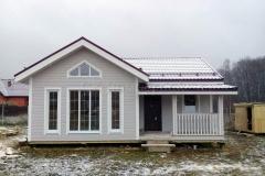 Каркасный дом 7,5х9 Серпухов 5