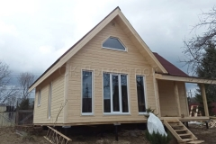 Каркасный дом 7,5х9 СНТ Восход 11