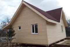 Каркасный дом 7,5х9 СНТ Восход 5