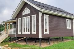 Каркасный дом 7,5х9 ТСН Удачный 4