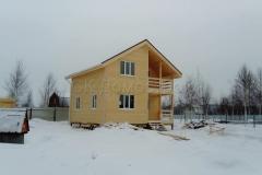 Каркасный дом 7х7 Пахомова 1
