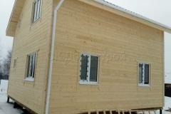 Каркасный дом 7х7 Пахомова 4