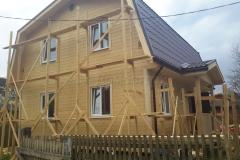 Каркасный дом 7х9 СНТ Строитель 1