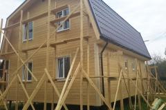 Каркасный дом 7х9 СНТ Строитель 3