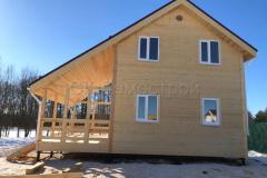 Каркасный дом 7х9 село Еганово 2